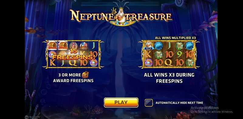 รีวิวเกม neptune treasure