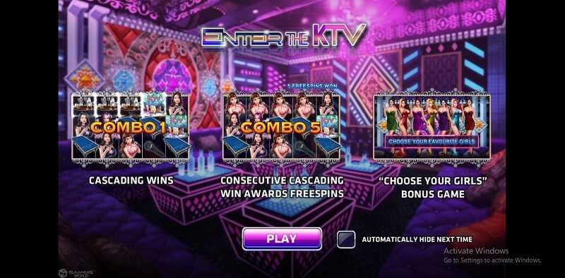 เกม enter the ktv slot
