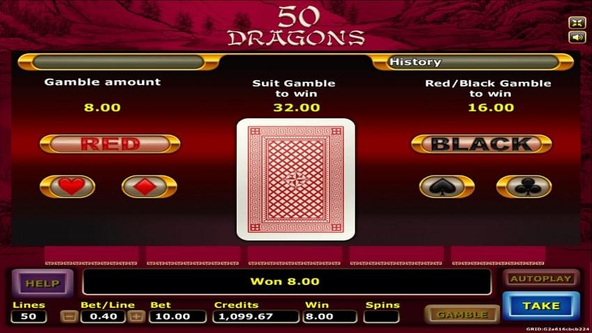 50 dragons-Joker gaming