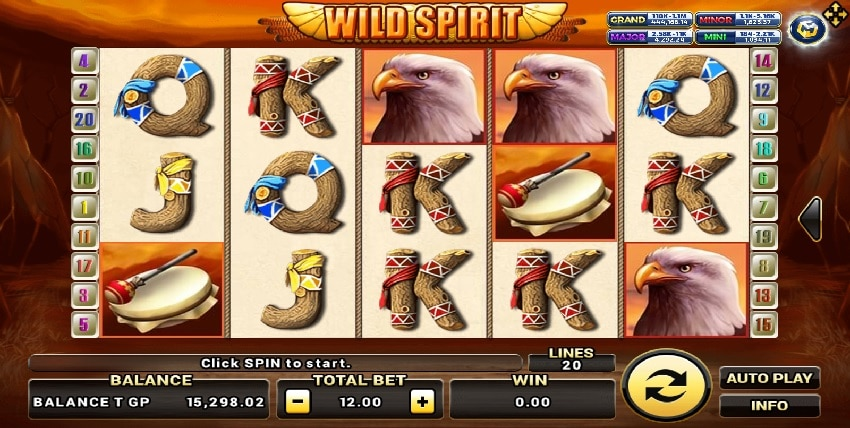 Wild spirit- Joker123th