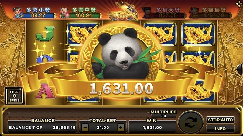 lucky panda-joker123th