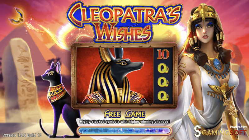 cleopatra's wishes-slot online