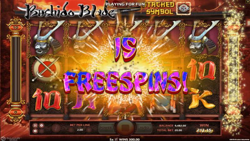 bushido blade-joker gaming