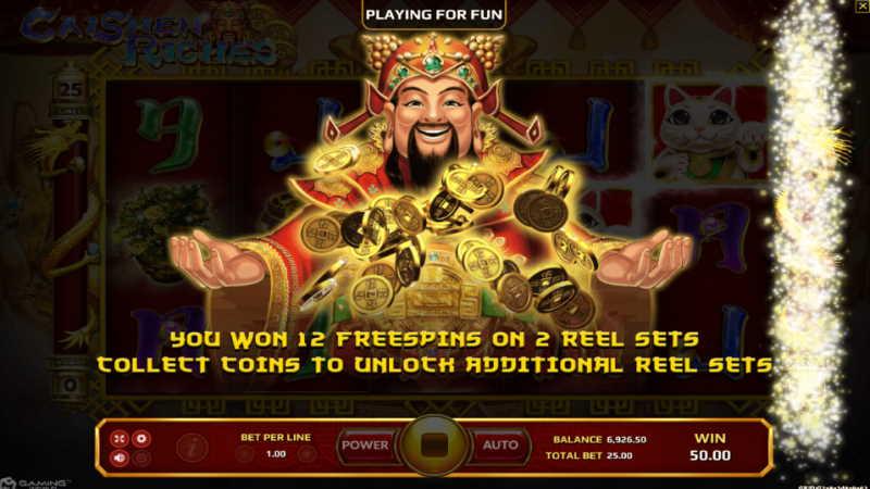 caishen riches-joker gaming