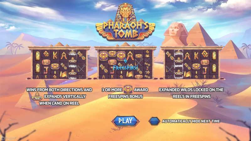 pharoh's tomb-joker123th